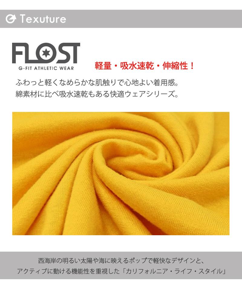 【40%OFF】FLOST デザインタンク フィットネスウェア GA-C567TT(1902 G-FIT) ジーフィット