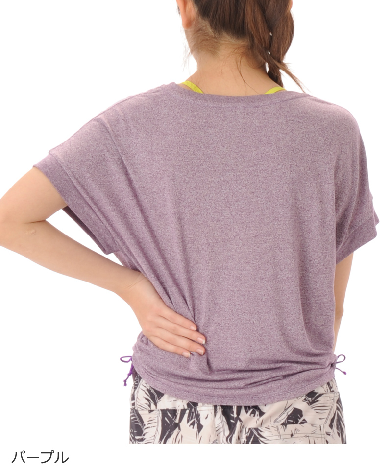 【40%OFF】デザインTシャツ フィットネスウェア GA-C592TS(1906 G-FIT) ジーフィット