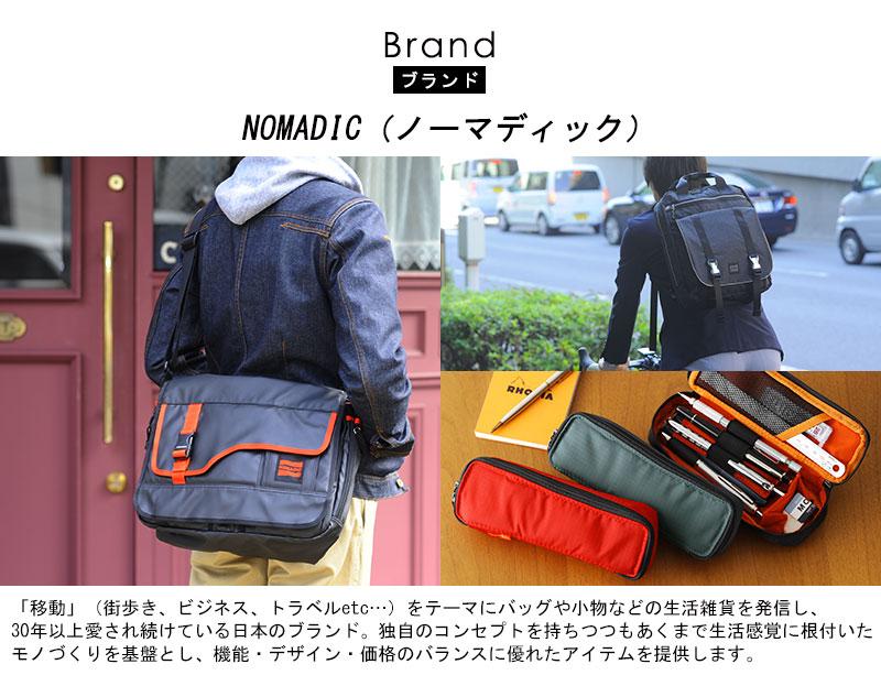 NOMADIC ノーマディック 撥水カメラショルダーバッグ 5L