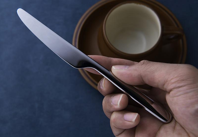 THE (ザ) 大人のバターナイフ ステンレス バターナイフ 箱付き