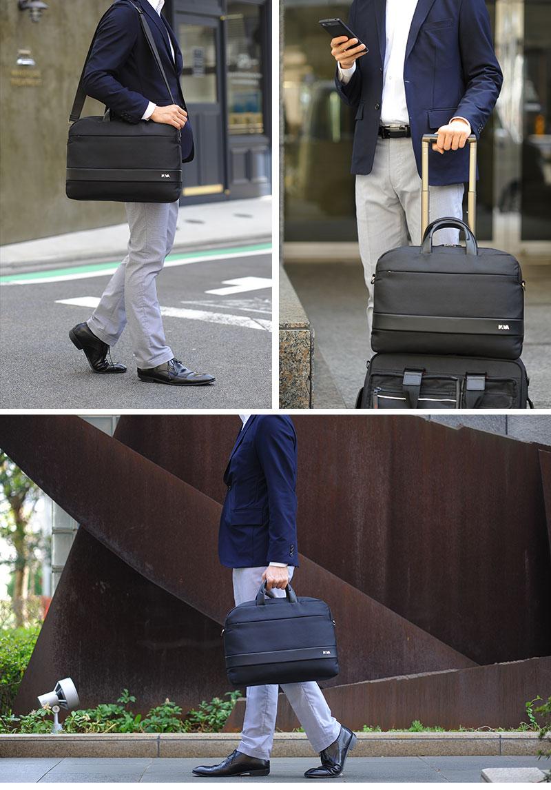 NAVA Design 2wayビジネスバッグ Easy+ Briefcase