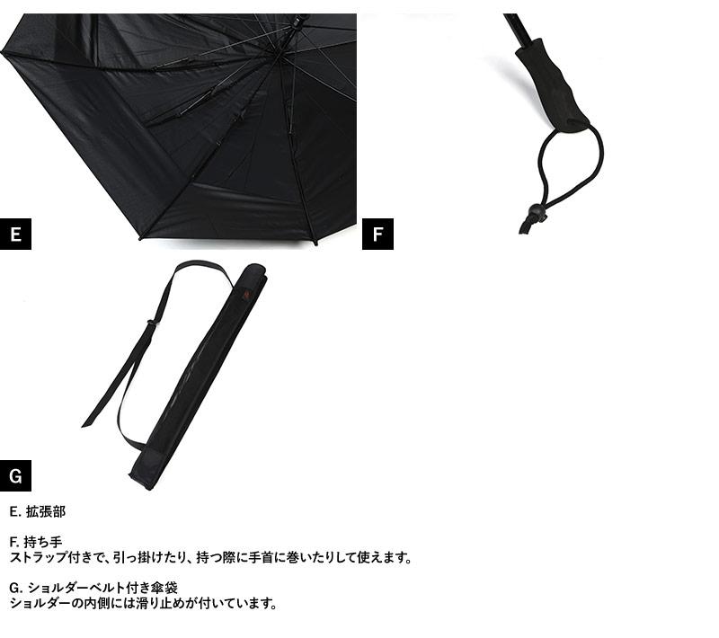 EuroSCHIRM リュック用傘 スウィングバックパック