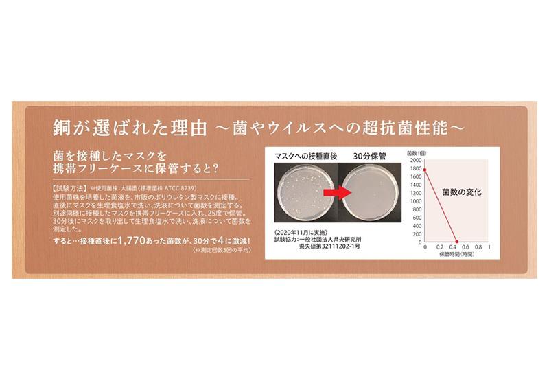純銅製 携帯型 マスクケース