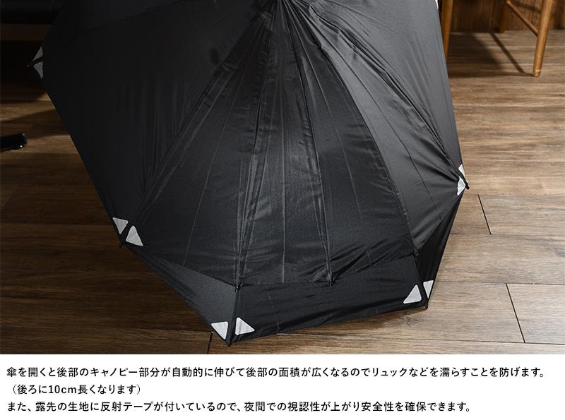 EuroSCHIRM リュック用傘 スウィングバックパック リフレクター付き W2B6-REF