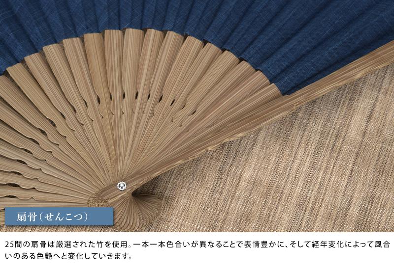これいい和 武州正藍染め京扇子