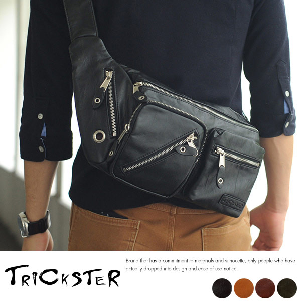 TRICKSTER メンズ ボディバッグ KEITH