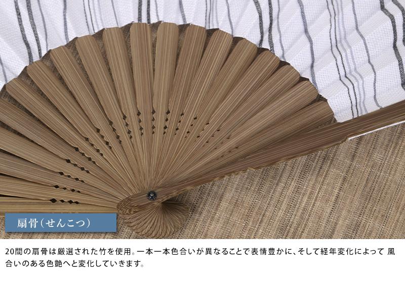 これいい和 播州織り京扇子