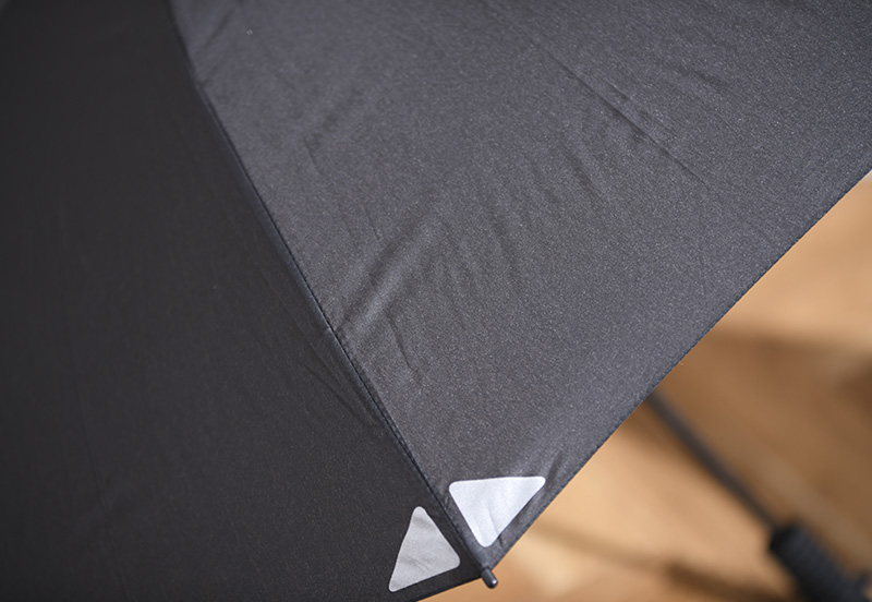 EuroSCHIRM Swingliteflex 軽量傘 リフレクター付き リフレクトブラック