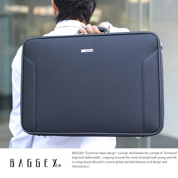 BAGGEX ソフトアタッシェケース A3対応 ORIGIN AT49 ブラック