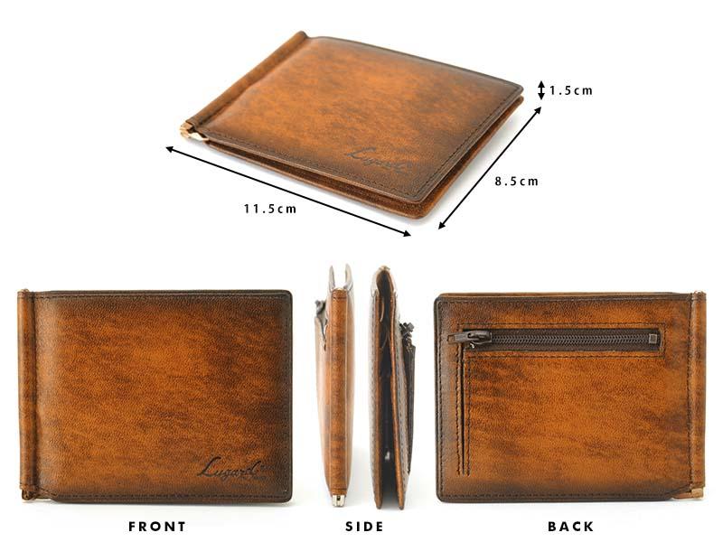青木鞄 財布 薄型 小銭入れ付き Lugard G-3