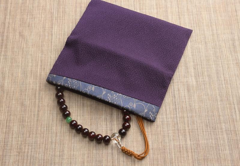 古渡緞子 念珠袋
