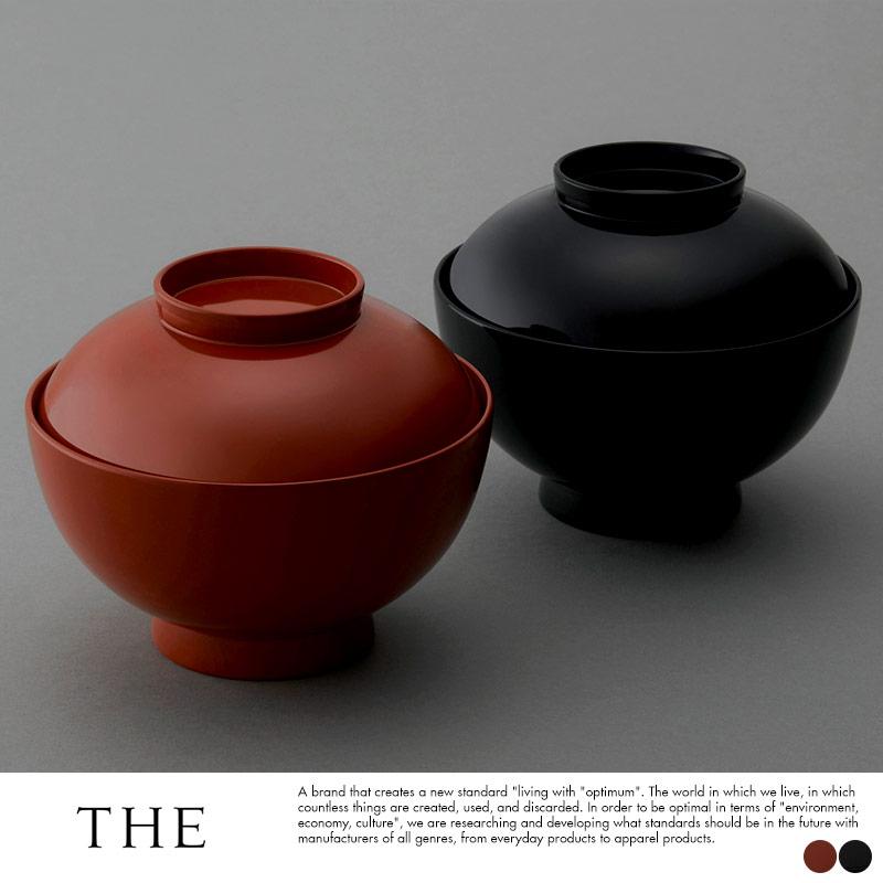 THE (ザ)  漆塗り 日本製 汁椀