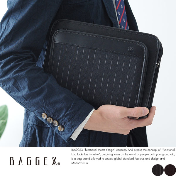 BAGGEX セカンドバッグ JADE