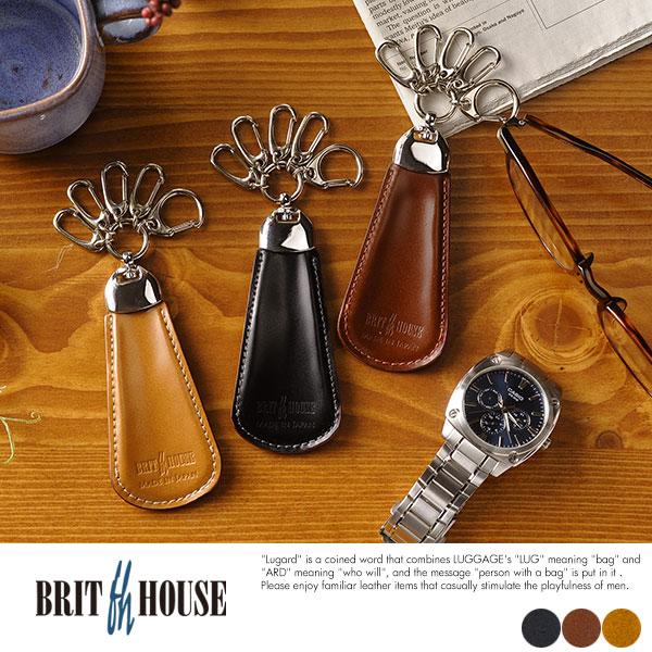 BRIT HOUSE コードバン 携帯シューホーン King of Leather Cordovan