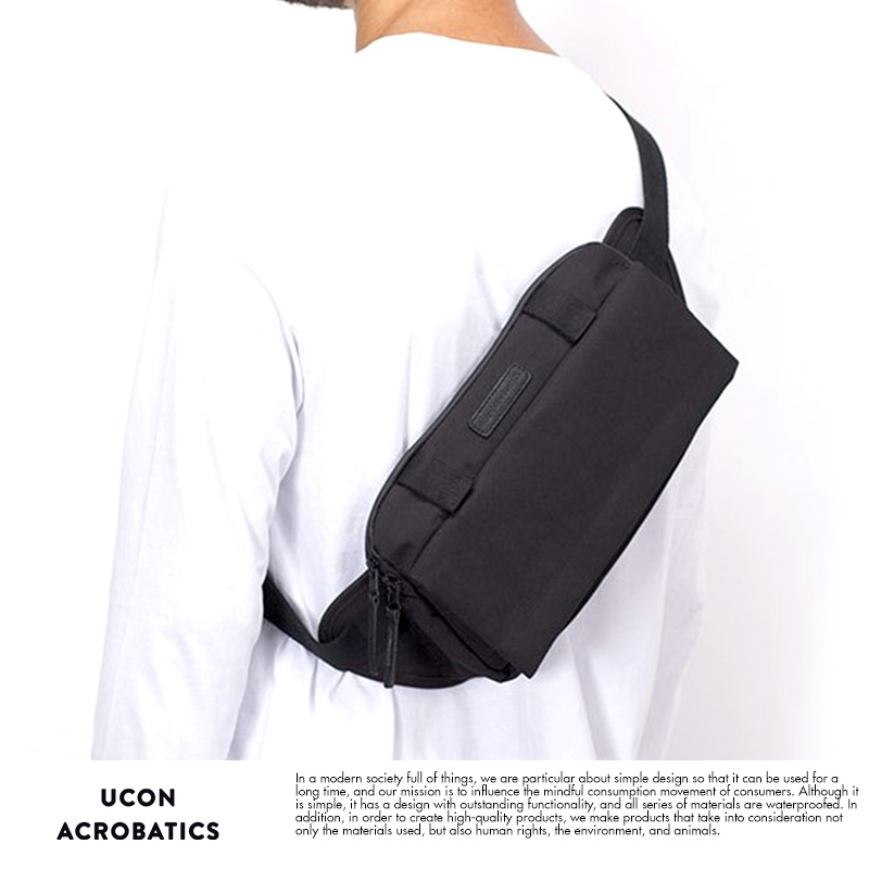 UCON ACROBATICS 防水ボディバッグ Luca Bag Stealth ブラック