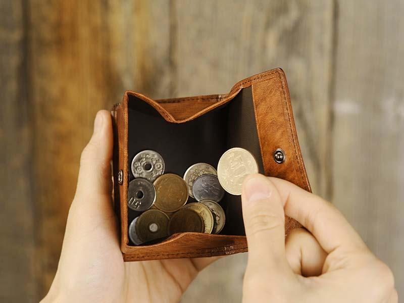 青木鞄 Lugard コインケース 本革 ボックス型 G-3