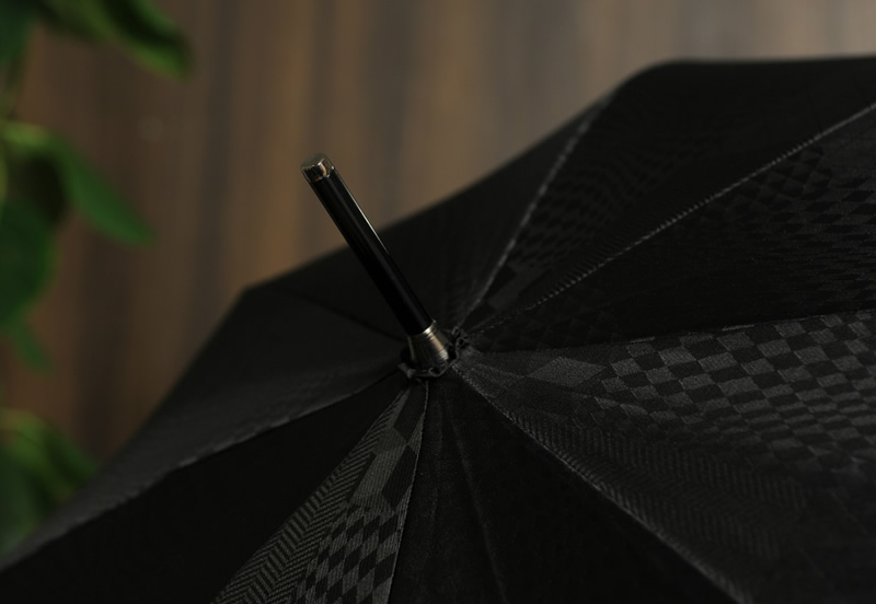 前原光榮商店 皇室 御用達 高級 雨傘 8本骨ジャンプ傘 65cm 楓持ち手 UJ-JUMP