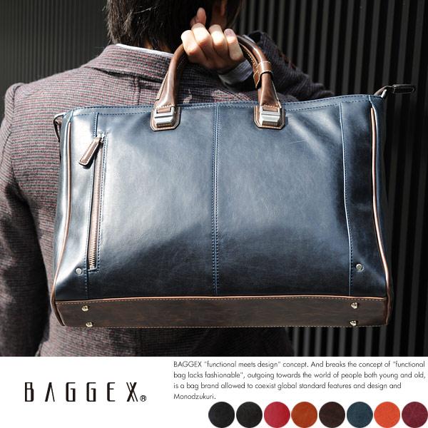 BAGGEX ビジネスバッグ メンズ TREASURE
