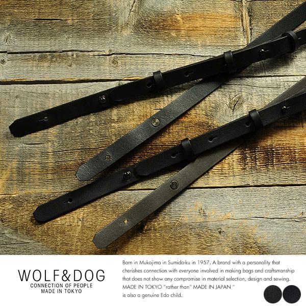 WOLF&DOG 牛革ショルダーストラップ 単品