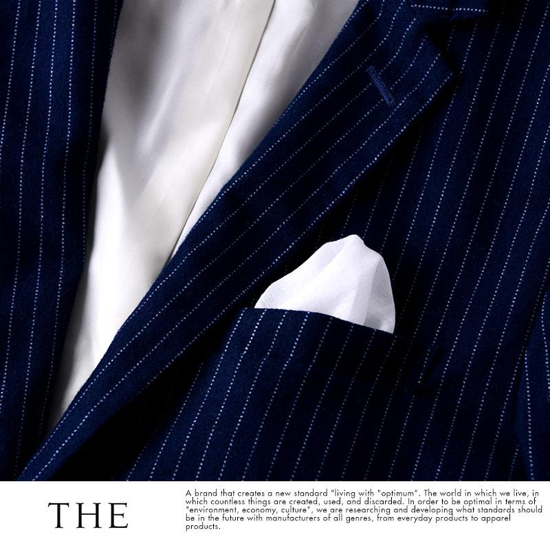 THE (ザ) 紳士の礼装 ポケットチーフ ホワイト