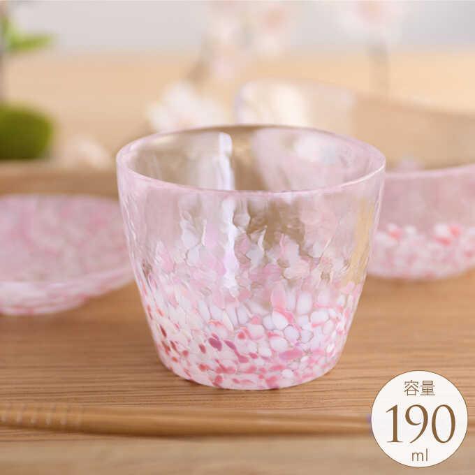 桜咲く 春の蕎麦猪口 そば用