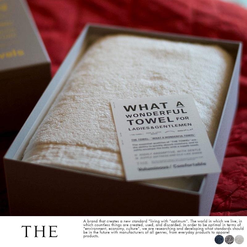 THE (ザ) TOWEL for GENTLEMEN バスタオル 68×140cm 箱入り