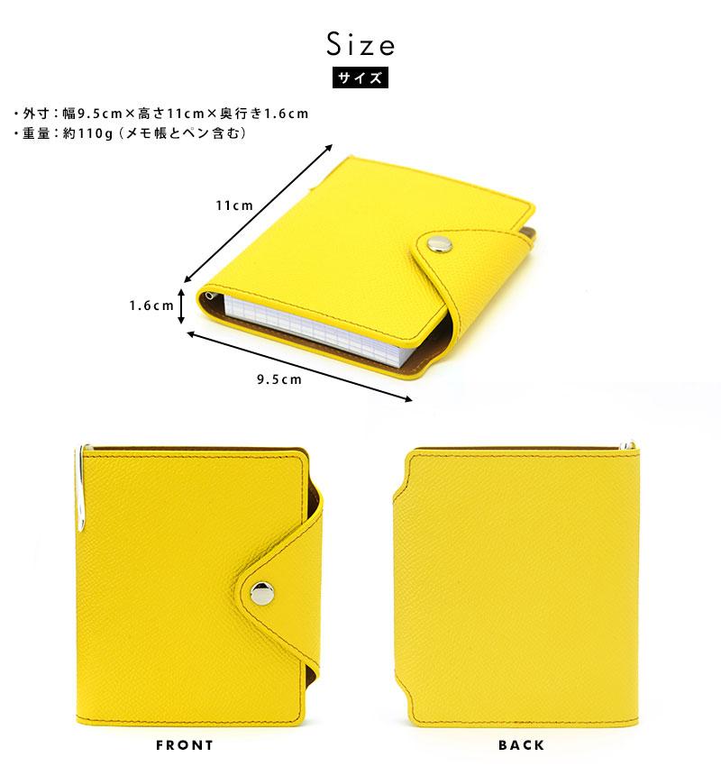 Susylabo Inc. 本革メモ帳カバー Mサイズ Culioro