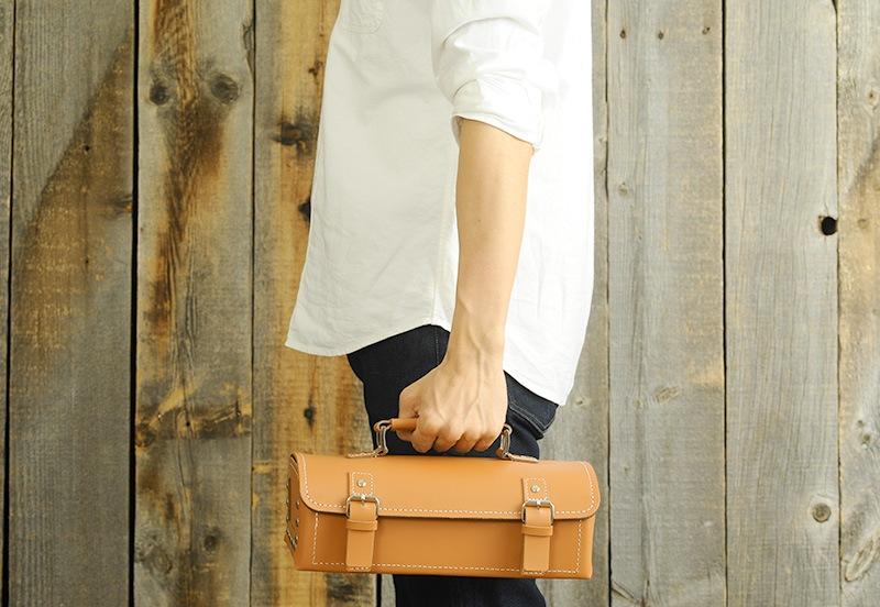 TOYO 東洋スチール 本革工具箱 LY-300