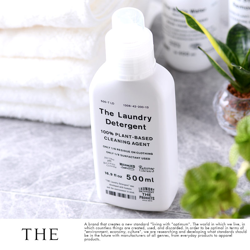 THE (ザ) 日本製 洗濯洗剤 The Laundry Detergent ボトル 500ml入