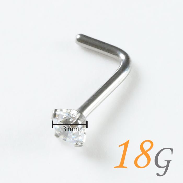 鼻 ピアッサー 18g 4点セット 鼻ピアス ボディピアス 純チタン製 チタン セット 消毒ジェル はなピ 金属アレルギー対応 穴あけ 18ゲージ