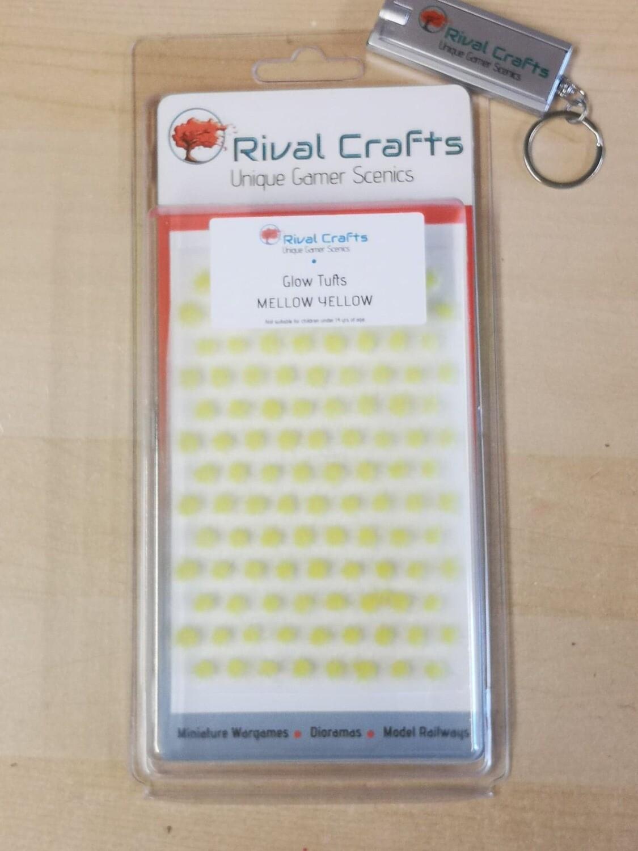 Glow Tufts - Mellow Yellow 4mm  |蓄光 草むら メローイエロー 4mm