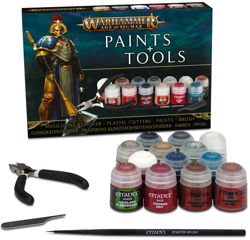 AGE OFSIGMAR PAINTS + TOOLS