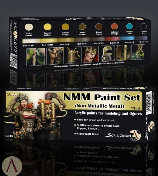 SSE-002 NMM Paint Set GOLD AND COPPER