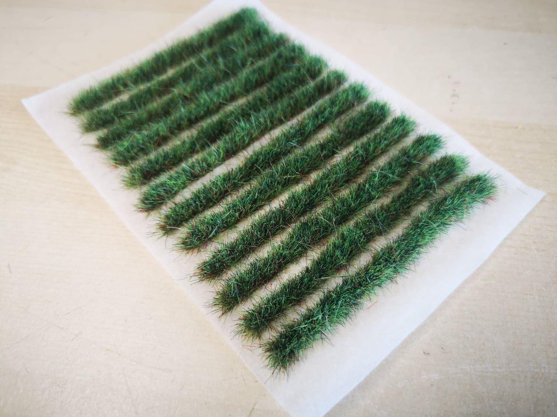 8cm Static Grass Strips 6mm x 12本 Summer Meadow