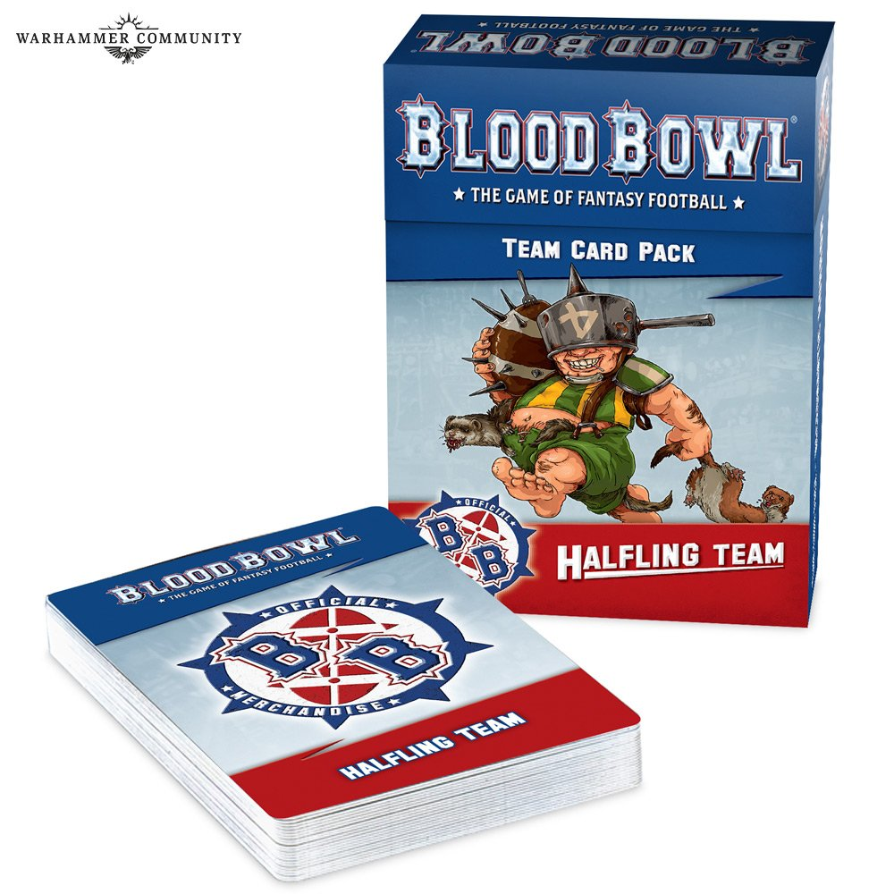 [ 予約商品 ] BLOOD BOWL HALFLING TEAM CARD PACK
