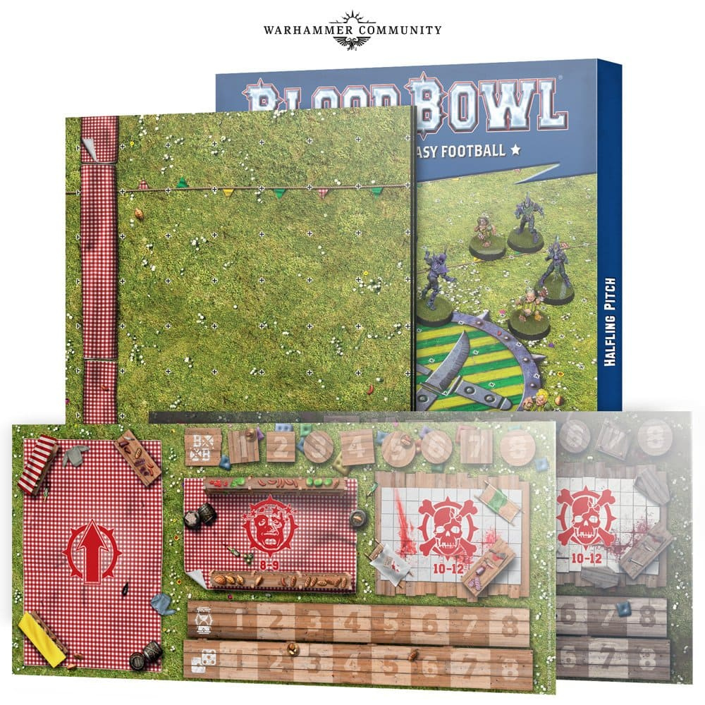 [ 予約商品 ] BLOOD BOWL HALFLING TEAM PITCH & DOGOUTS