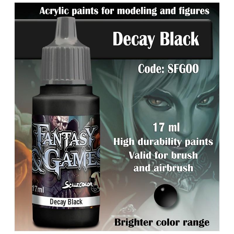 (SFG-00)DECAY BLACK