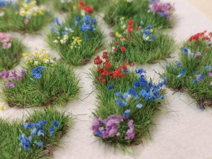 Summer Meadow Patches - Small