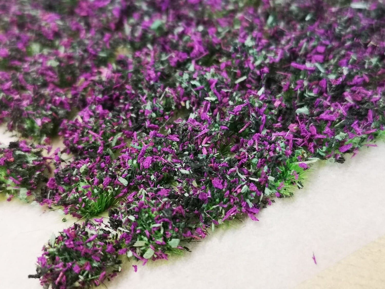 Purple Heather - Bushy Leaf Tufts x98 個