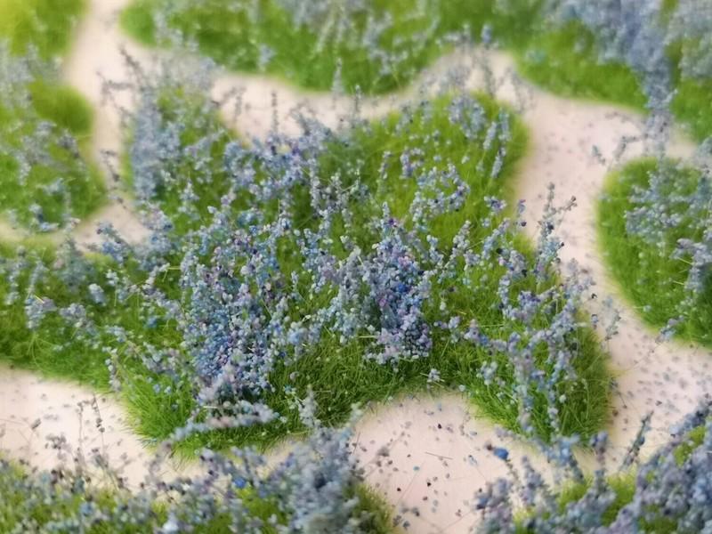 Medium Flower Patches 10mm - Lavender