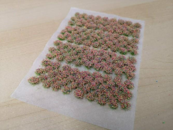 Flower Tufts - Neon Mix