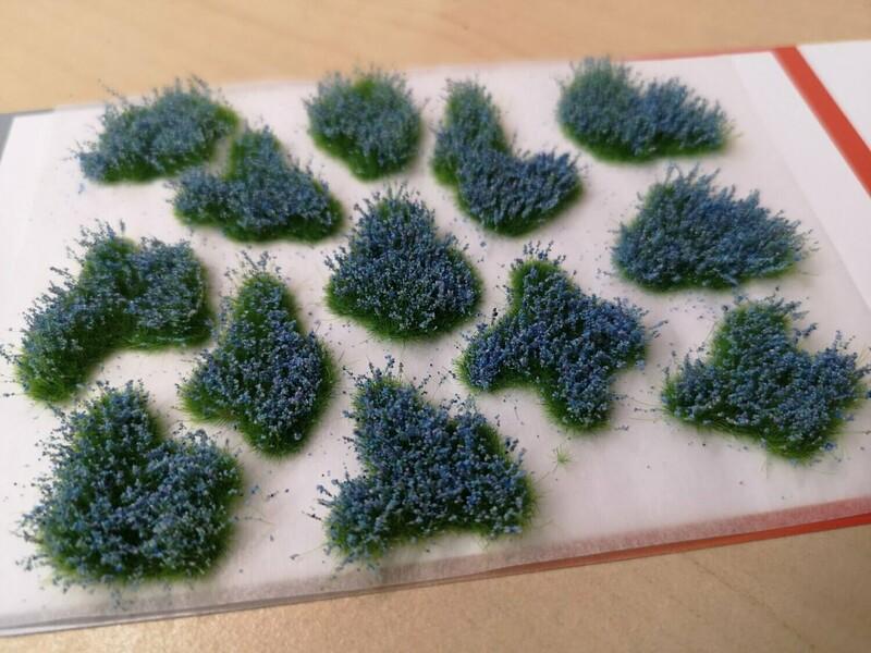 Medium Flower Patches 6mm - Bluebells