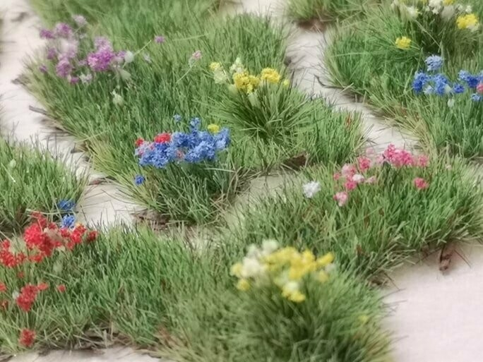 Summer Meadow Patches - Medium