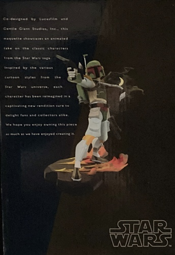 ANIMATED BOBA FETT LIMITED EDITION MAQUETTE[GENTLE GIANT]