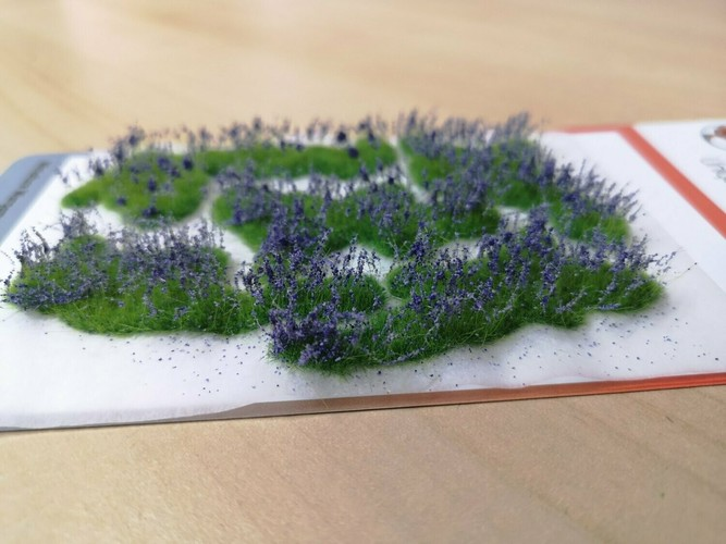 Large Flower Patches 10mm - Lavender
