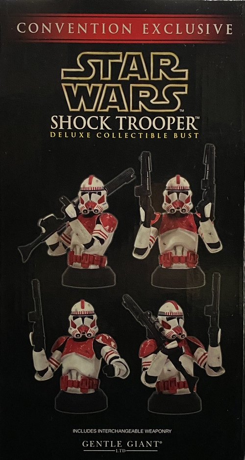 SHOCK TROOPER MINI BUST[GENTLE GIANT]