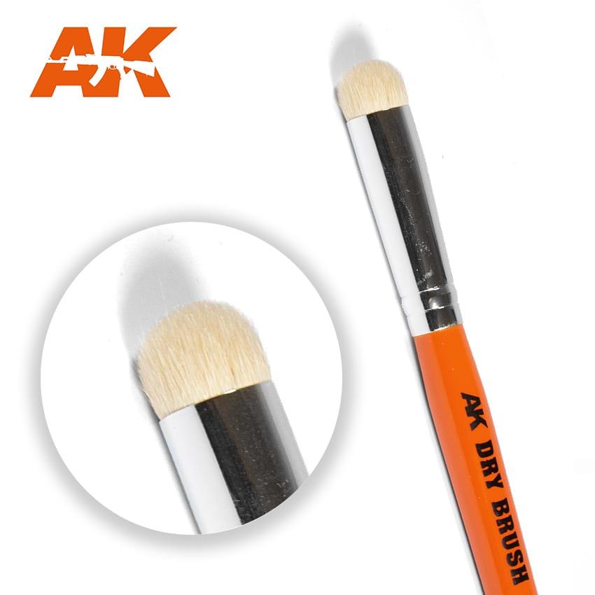 AKドライブラシ筆