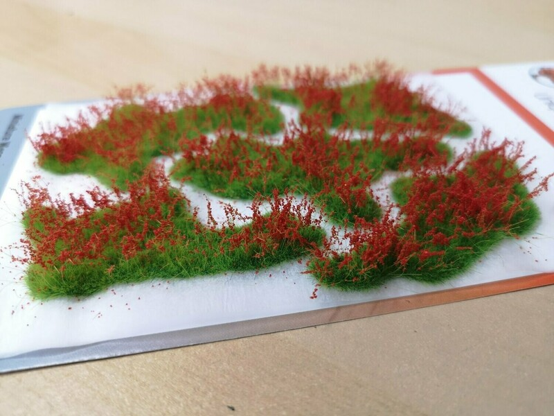 Large Flower Patches 10mm - Poppy