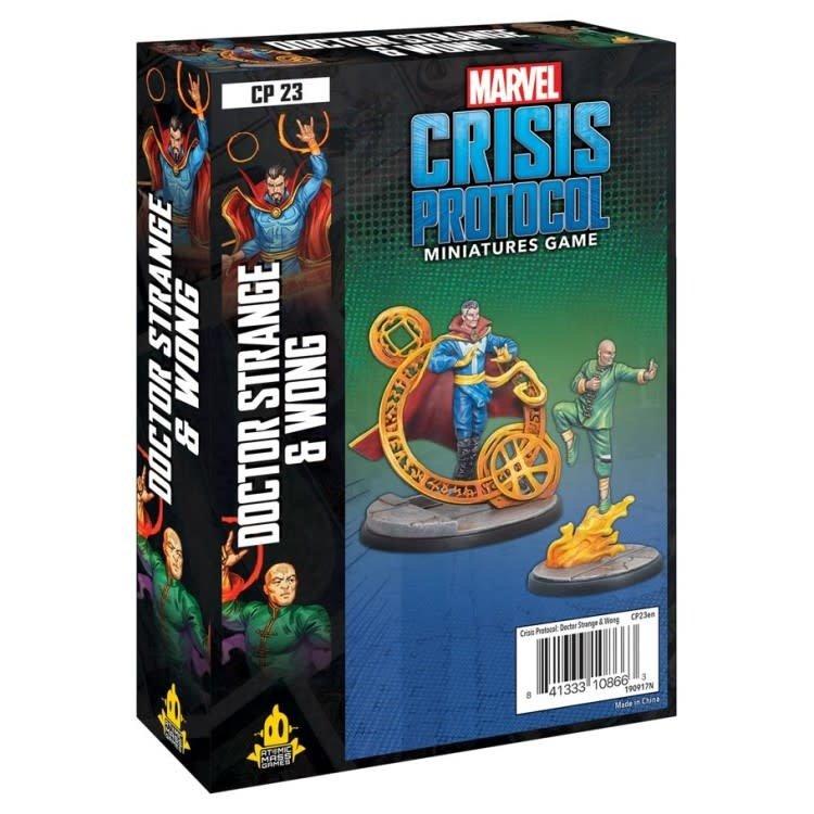 Marvel: Crisis Protocol - Dr. Strange & Wong Character Pack (New Arrival)