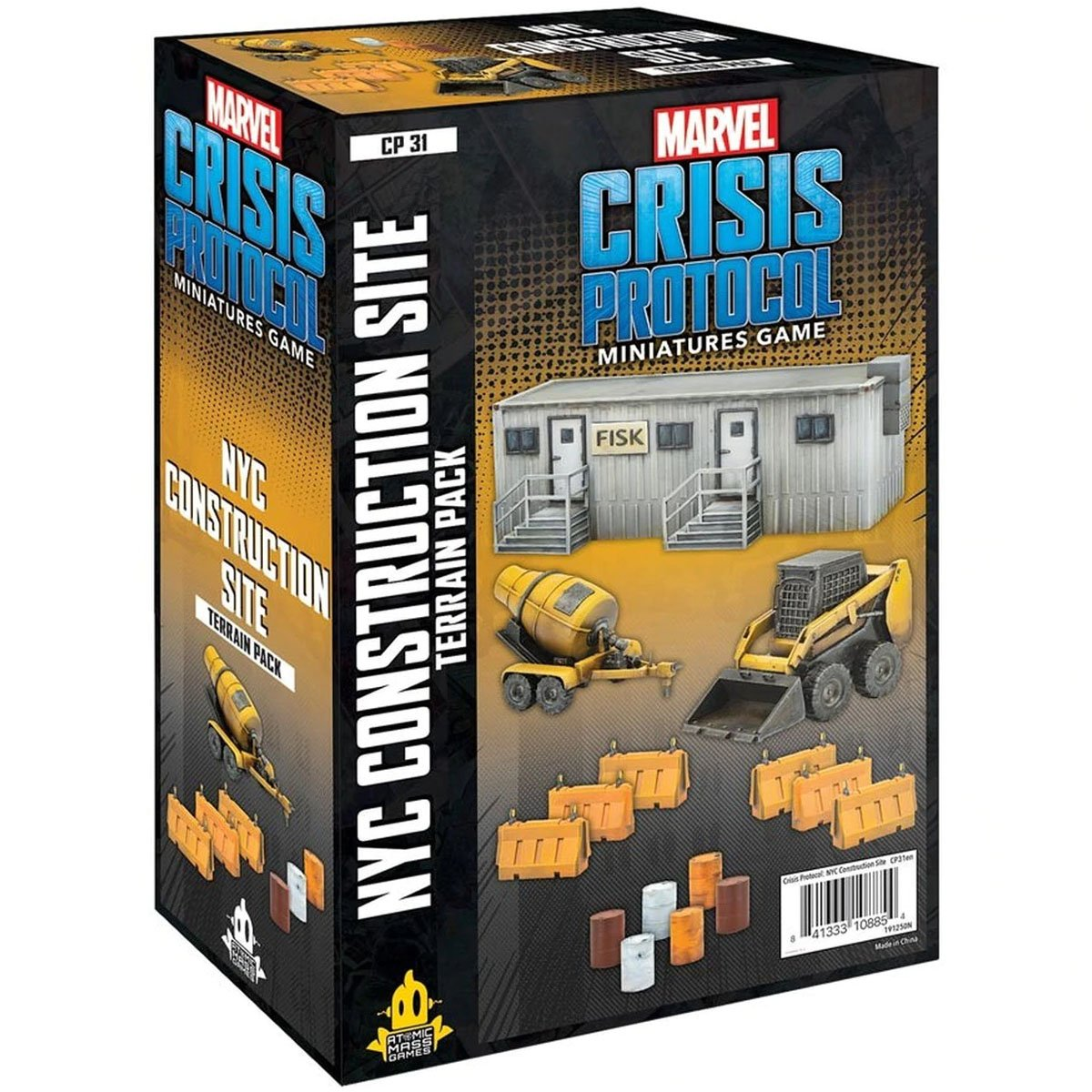 Marvel: Crisis Protocol - NYC Contruction Site Terrain Pack (Preorder)